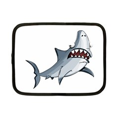 Scary Cute Shark Netbook Case (small)  by ImagineWorld