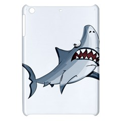 Scary Cute Shark Apple Ipad Mini Hardshell Case by ImagineWorld
