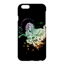 Wonderful Unicorn With Flowers Apple Iphone 6 Plus/6s Plus Hardshell Case by FantasyWorld7
