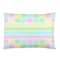 Geometric Pastel Design Baby Pale Pillow Case