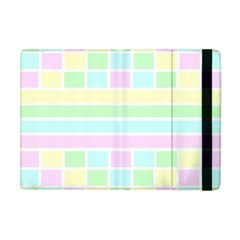 Geometric Pastel Design Baby Pale Apple Ipad Mini Flip Case