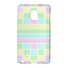 Geometric Pastel Design Baby Pale Galaxy Note Edge
