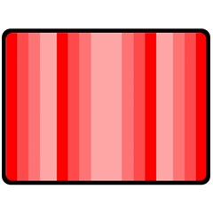 Red Monochrome Vertical Stripes Double Sided Fleece Blanket (large)  by Nexatart