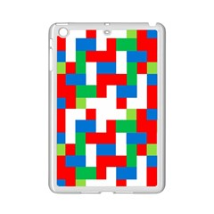 Geometric Maze Chaos Dynamic Ipad Mini 2 Enamel Coated Cases by Nexatart