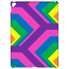 Geometric Rainbow Spectrum Colors Apple Ipad Pro 12 9   Hardshell Case by Nexatart