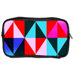 Geometric Pattern Design Angles Toiletries Bags