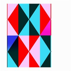 Geometric Pattern Design Angles Small Garden Flag (two Sides) by Nexatart