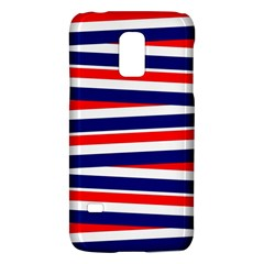 Red White Blue Patriotic Ribbons Galaxy S5 Mini by Nexatart