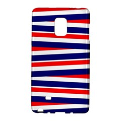 Red White Blue Patriotic Ribbons Galaxy Note Edge