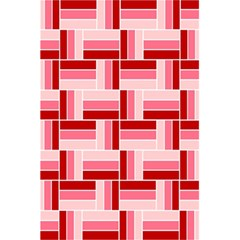Pink Red Burgundy Pattern Stripes 5 5  X 8 5  Notebooks by Nexatart