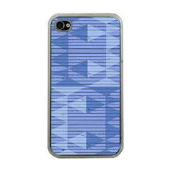 Texture Wood Slats Geometric Aztec Apple Iphone 4 Case (clear)