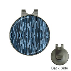Texture Surface Background Metallic Hat Clips With Golf Markers