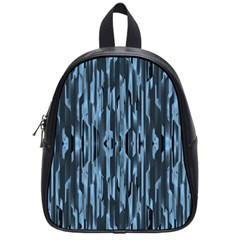 Texture Surface Background Metallic School Bag (small) by Nexatart
