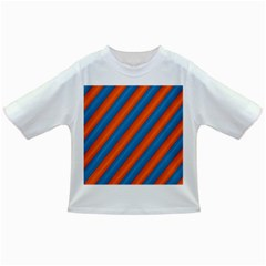 Diagonal Stripes Striped Lines Infant/toddler T Shirts