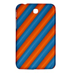 Diagonal Stripes Striped Lines Samsung Galaxy Tab 3 (7 ) P3200 Hardshell Case  by Nexatart