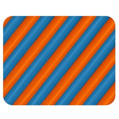 Diagonal Stripes Striped Lines Double Sided Flano Blanket (medium)  by Nexatart