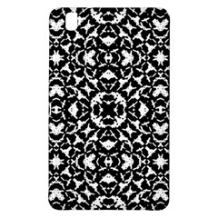 Black And White Geometric Pattern Samsung Galaxy Tab Pro 8 4 Hardshell Case by dflcprints