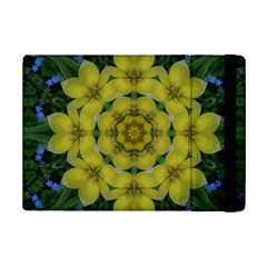 Fantasy Plumeria Decorative Real And Mandala Ipad Mini 2 Flip Cases by pepitasart