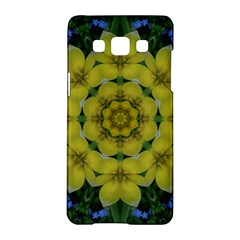 Fantasy Plumeria Decorative Real And Mandala Samsung Galaxy A5 Hardshell Case  by pepitasart