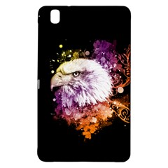 Awesome Eagle With Flowers Samsung Galaxy Tab Pro 8 4 Hardshell Case by FantasyWorld7