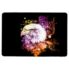 Awesome Eagle With Flowers Ipad Air 2 Flip by FantasyWorld7