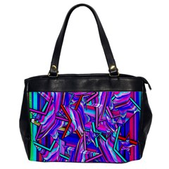 Stars Beveled 3d Abstract Stripes Office Handbags