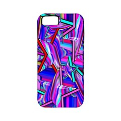 Stars Beveled 3d Abstract Stripes Apple Iphone 5 Classic Hardshell Case (pc+silicone) by Nexatart