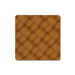 Wood Texture Background Oak Square Magnet