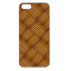 Wood Texture Background Oak Apple Seamless Iphone 5 Case (clear)