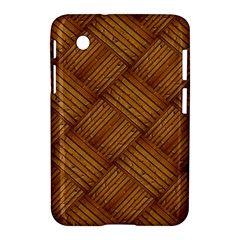 Wood Texture Background Oak Samsung Galaxy Tab 2 (7 ) P3100 Hardshell Case