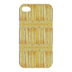 Wood Texture Grain Light Oak Apple Iphone 4/4s Premium Hardshell Case