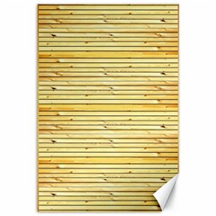 Wood Texture Background Light Canvas 12  X 18