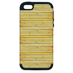 Wood Texture Background Light Apple Iphone 5 Hardshell Case (pc+silicone)