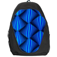 Abstract Waves Motion Psychedelic Backpack Bag by Nexatart