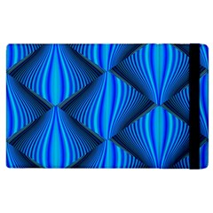 Abstract Waves Motion Psychedelic Apple Ipad 2 Flip Case by Nexatart