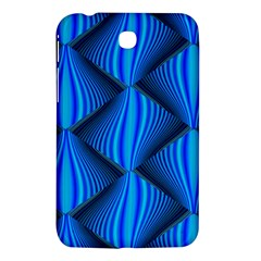 Abstract Waves Motion Psychedelic Samsung Galaxy Tab 3 (7 ) P3200 Hardshell Case  by Nexatart