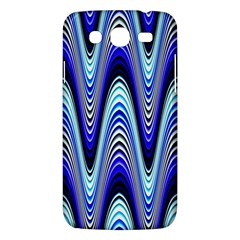 Waves Wavy Blue Pale Cobalt Navy Samsung Galaxy Mega 5 8 I9152 Hardshell Case