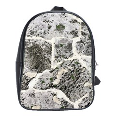 Coquina Shell Limestone Rocks School Bag (large) by Nexatart