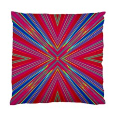 Burst Radiate Glow Vivid Colorful Standard Cushion Case (two Sides)