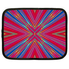 Burst Radiate Glow Vivid Colorful Netbook Case (xxl)