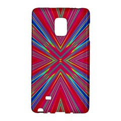 Burst Radiate Glow Vivid Colorful Galaxy Note Edge by Nexatart