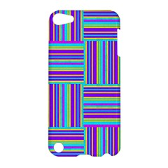 Geometric Textile Texture Surface Apple Ipod Touch 5 Hardshell Case