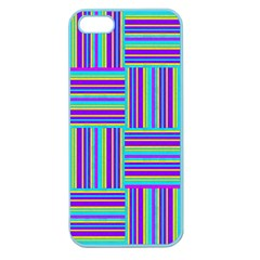 Geometric Textile Texture Surface Apple Seamless Iphone 5 Case (color)