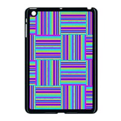 Geometric Textile Texture Surface Apple Ipad Mini Case (black)