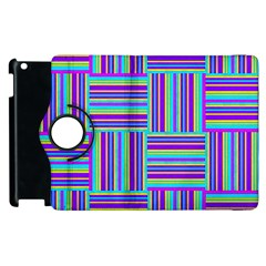 Geometric Textile Texture Surface Apple Ipad 2 Flip 360 Case by Nexatart