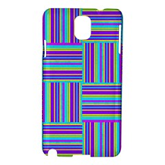 Geometric Textile Texture Surface Samsung Galaxy Note 3 N9005 Hardshell Case by Nexatart