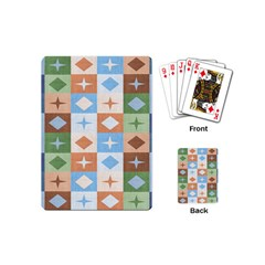Fabric Textile Textures Cubes Playing Cards (mini)