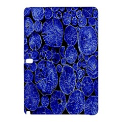 Neon Abstract Cobalt Blue Wood Samsung Galaxy Tab Pro 10 1 Hardshell Case