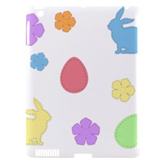 Easter Patches  Apple Ipad 3/4 Hardshell Case (compatible With Smart Cover) by Valentinaart