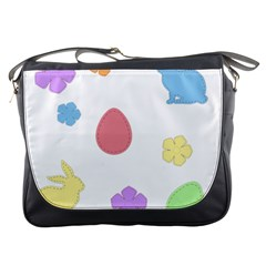 Easter Patches  Messenger Bags
